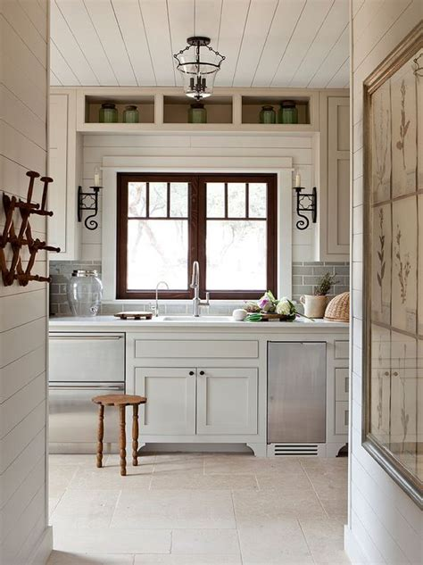 Shiplap Ceiling Kitchen by Ceilings Cottage Kitchens And Ship On