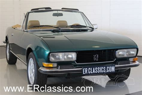 Peugeot Cabriolet by Peugeot 504 Cabriolet 1976 For Sale At Erclassics