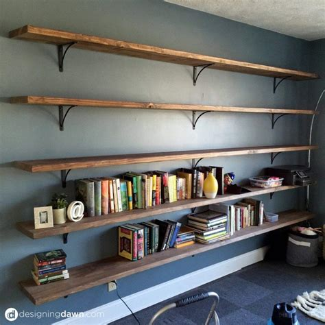 Dawn's House Diy Library Shelving  1 Pinterest