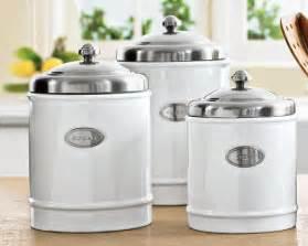 kitchen canisters white canisters ceramics and canister sets