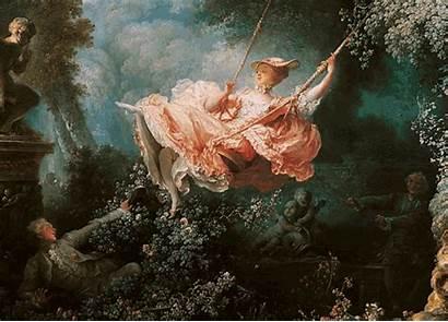 Painting Swing Rococo History Fragonard Princess French