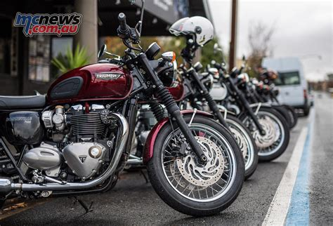 Triumph Bonneville T120 Modification by Triumph T120 Bonneville Review Test Mcnews Au