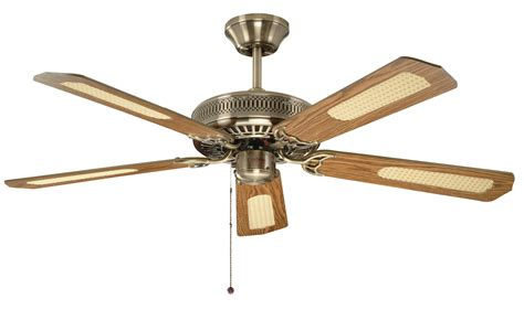 large ceiling fans with remote control fantasia classic 52 antique brass ceiling fan 110224