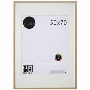 Cadre Bois 50x70 : cadre lario 50 x 70 cm ch ne clair leroy merlin ~ Teatrodelosmanantiales.com Idées de Décoration