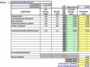 Restaurant Inventory  Recipe Costing  U0026 Menu Profitability
