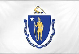 Image result for massachusetts state flag