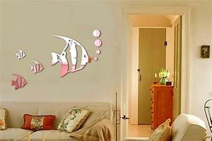 Elite collection d home office decor wall decals mirror