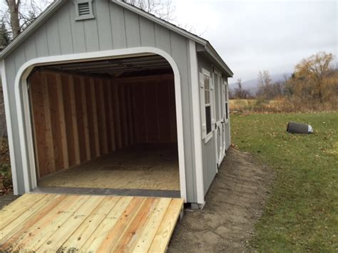 10 X 20 Garage 10 x20 a frame garage shed inc