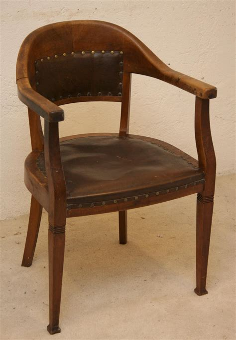 Bureau Cuir - chaise bureau cuir