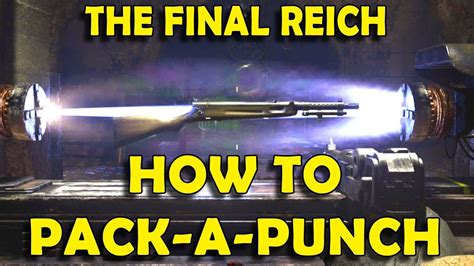 ww2 zombies cod call duty final reich solo guide zombie pack punch springbank unlock