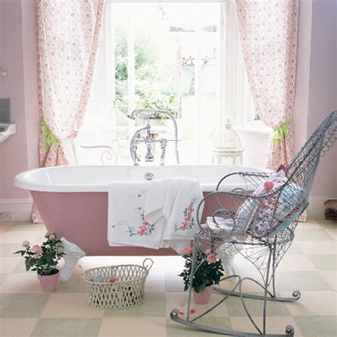 and yellow curtains 18 bathrooms for shabby chic design inspiration