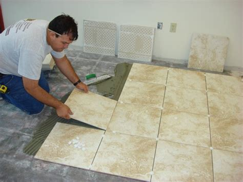 flooring ideas installation tips for laying tile