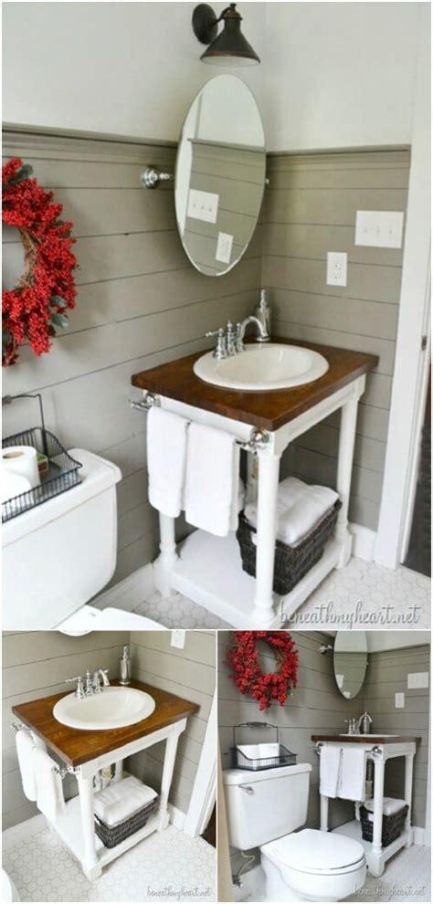 gorgeous diy bathroom vanities  beautify  beauty routine diy crafts