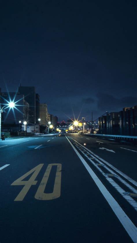 japan tokyo street racing night iphone  wallpaper ipod