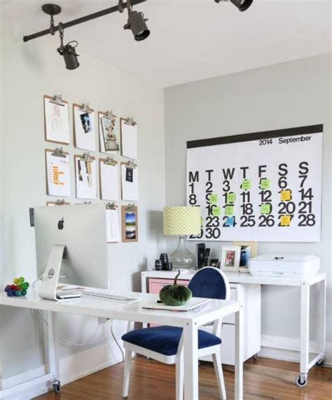 small office lighting ideas all white furniture and wall interior color decor for