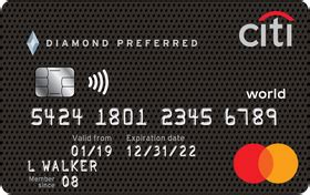 review citi diamond preferred credit card  ascent