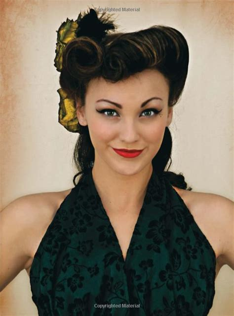 Modern 1940s Hairstyles by Retro Dos Illustration On How To Do Vintage Inspired Hair