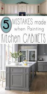 mistakes people make when painting kitchen cabinets 949