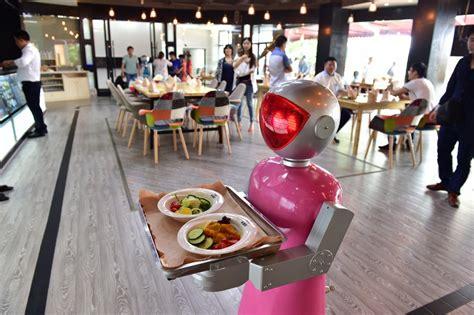 jeux de cuisine serveur les robots cartonnent dans les restaurants chinois