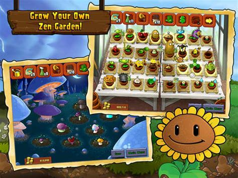 plants vs zombies zen garden wave of updates hits plants vs zombies for iphone