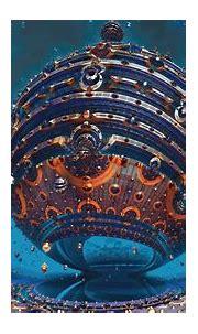 Fractals 3D Sphere 4K Wallpapers | HD Wallpapers | ID #24916