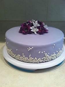 Purple Birthday Cake Ideas and Designs