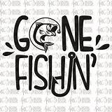 Gone Fishin Fishing Svg Stencil Designs Digital Diy Vinyl Stencils Cutting Etsy Patterns Drawing Fish Disney Crafts Cartoon sketch template