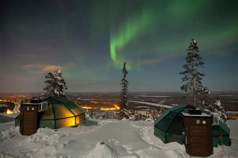 Northern Lights Igloo by 7 Places To See The Northern Lights Go Now Before They