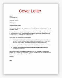 Cv cover letter examples http wwwresumecareerinfo cv for Does every resume need a cover letter