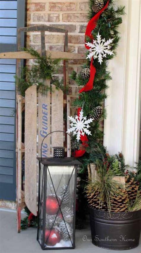 gorgeous winter porches  inspire