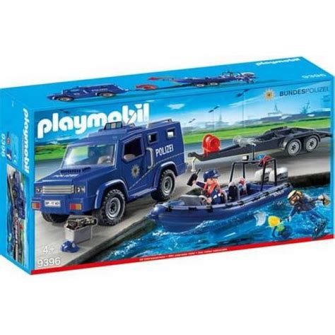 Rubberboot Kopen Action by Goedkoop Playmobil Politietruck Met Rubberboot 9396