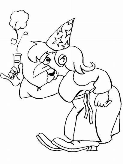 Magician Coloring Pages Coloringpages1001