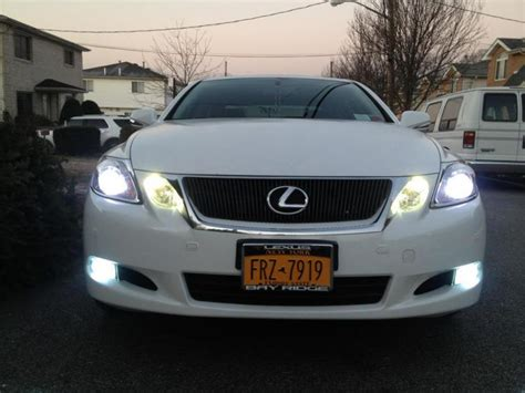 replaced headlight bulb led and hid fogs club lexus forums