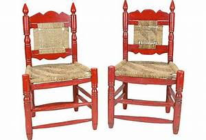 Handmade Mexican Chairs  Pair On Onekingslane Com  With