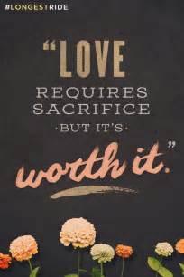 Love Requires Sacrifice Quotes