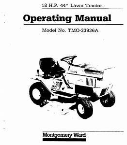 Bolens Lawn Mower Tmo