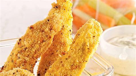 cuisiner des filets de poulet filets de poulet au croustillant de semoule de maïs