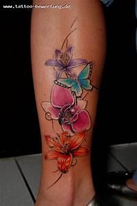 Schöne 3d Bilder : silla meine erste sch ne blumenranke tattoos von tattoo ~ Eleganceandgraceweddings.com Haus und Dekorationen