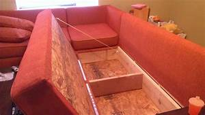 Diy storage sectional free plans also from ana white for Making a sectional sofa