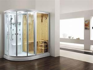 que pensez vous des cabines douche sauna saunas With sauna exterieur avec douche