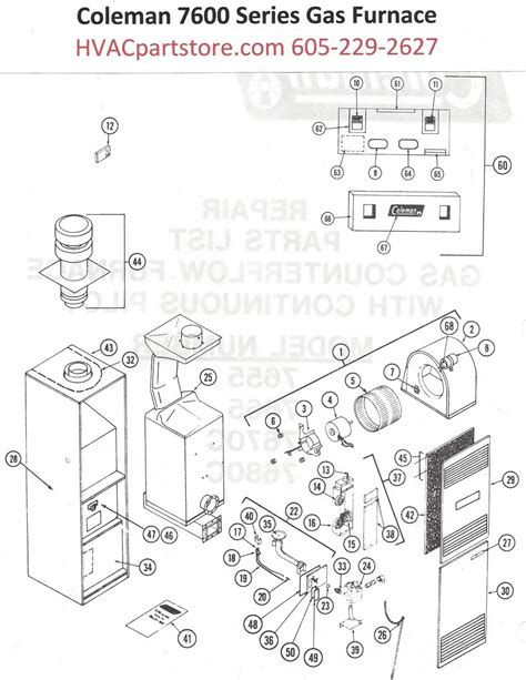 Coleman Furnace Thermostat Wiring Diagram by Coleman Evcon Furnace Wiring Diagram Free Wiring Diagram