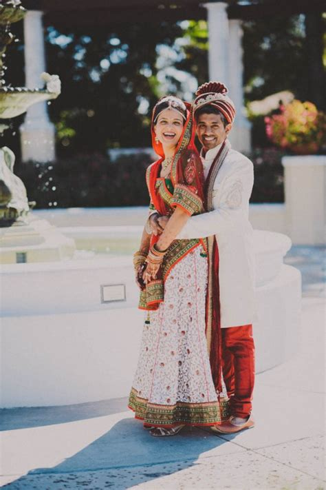 Modern Indian Wedding At The Lake Mirror Complex Junebug
