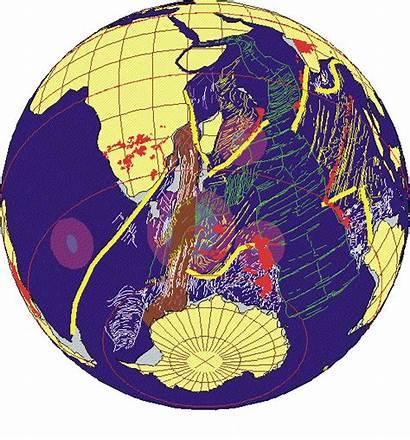 Gondwana Pangea Laurasia Map Continent Tectonic Supercontinent