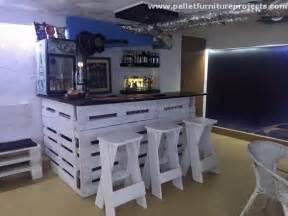Wood Pallet Bar Plans