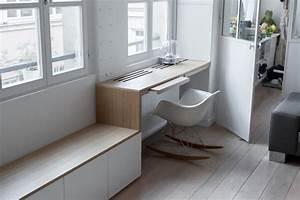 Schreibtisch Im Wohnzimmer Integrieren : 27 tolle designer ideen f r die moderne wohnungsgestaltung ~ Bigdaddyawards.com Haus und Dekorationen