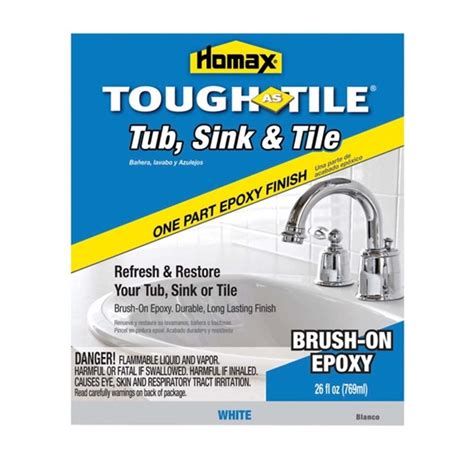 Homax Tough Tile Refinishing Kit by How To Paint A Sink