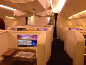 Thai Airways First Class Cabin A380 NRT - BKK