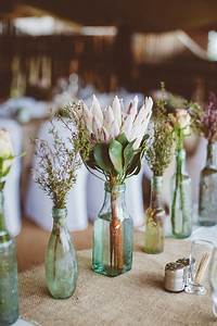 Stunning handmade wedding table decorations chwv for Flower ideas for wedding