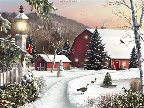 chambre d agriculture 31 kinkade winter wallpapers wallpaper cave