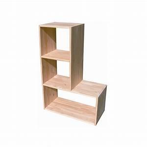 Etagere En Pin : etag re modulo en l en pin ~ Teatrodelosmanantiales.com Idées de Décoration